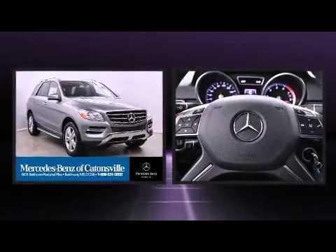 2015 mercedes benz ml350 nav keyless go blind spot youtube for Mercedes benz catonsville