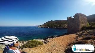 VisitRhodes.com - Cycling to Monolithos Tower