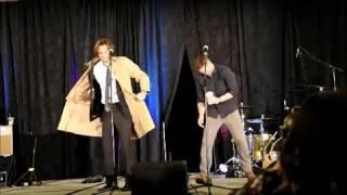 Jared and Jensen Gold Panel SPNHous