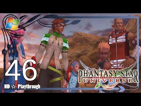 Phantasy Star Universe 【PC】 - Story Playthrough Pt.46 「Chapter 9: Hot SOS」