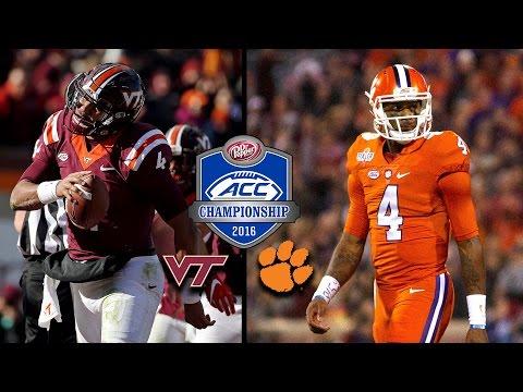 Virginia Tech vs. Clemson: 2016 ACC Football Championship On The Line