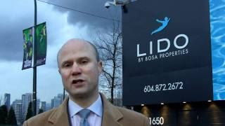 Lido by Bosa Presale Condo in SE False Creek Mike Stewart
