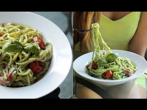 Best Creamy Spaghetti! - Healthy & Vegan/ Vegetarian