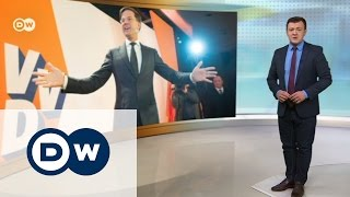 Голландцы дали отпор правым популистам   DW Новости (16 03 2017)
