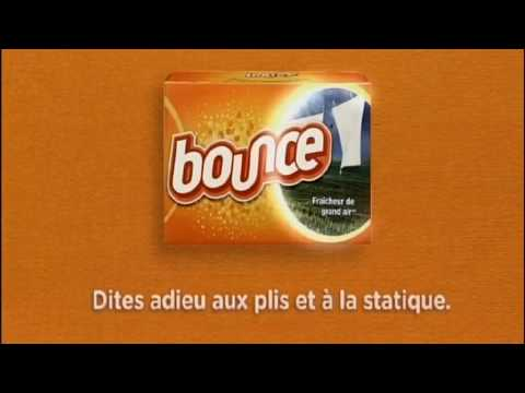 Publicité de BOUNCE version francaise
