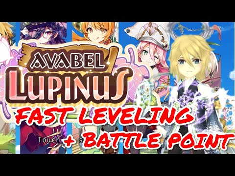 POKEBEL/AVABEL LUPINUS: BEGINNER's TIPS/TRICKS For FAST LEVELING + HIGH BATTLE POINT (BP)