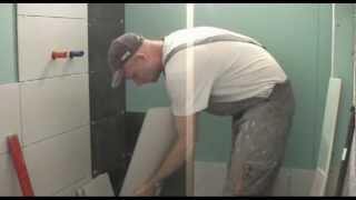 Укладка плитки на гипсокартон в ванной  www.odesremont.od.ua(Гипсокартон -- материал, который пользуется вполне заслуженной популярностью в любых отделочных работах...., 2013-02-01T20:17:16.000Z)