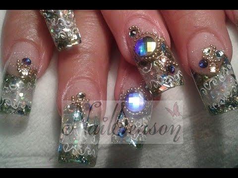 Decoracion De Uñas 2014 2015 Diseños Con Cristales Piedras