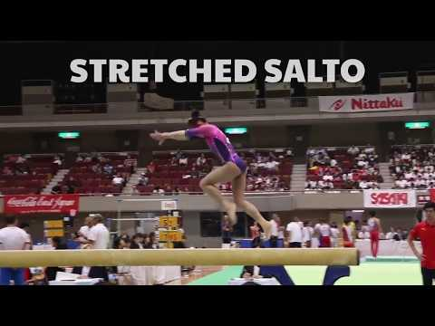 Judging Layouts On Beam — Gymnastics