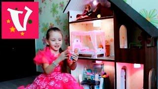 домик для куклы Барби. Домик своими руками, подарок на день рождения(Мама и папа подготовили сюрприз на день рождения и изготовили своими руками домик для Барби. Домик из трех..., 2016-02-05T09:24:08.000Z)