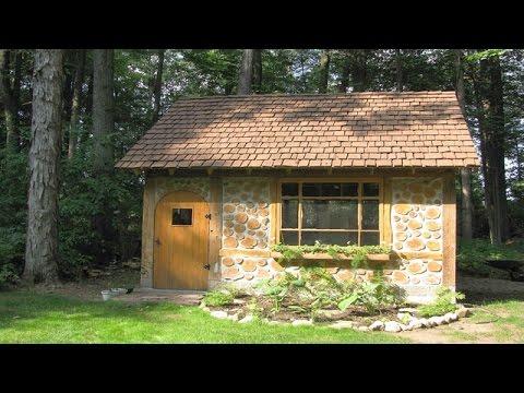видео: Дом из дров