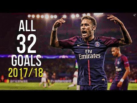 Neymar Jr ● All 32 Goals in Season 2017/18 | HD