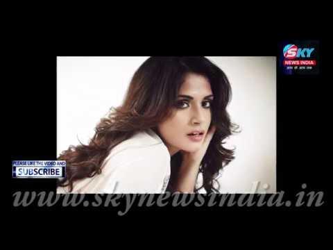 Richa Chadda At REEL Movie Awards 2018 = Sky News India