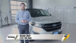 2018  Ford Edge - Review and Test Drive | Watertown, NY