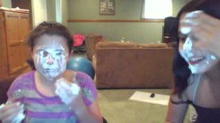 whip cream on our face Thumbnail