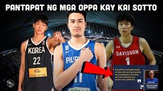 Ang pantapat ng South Korea kay Kai Sotto   Coach Tab positibo na makakasama si Kai sa 3rd window