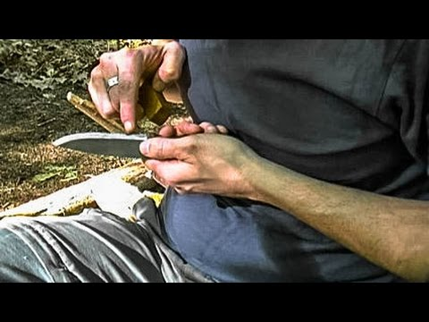The Best Way to Sharpen a Bushcraft Knife — SCARY SHARP