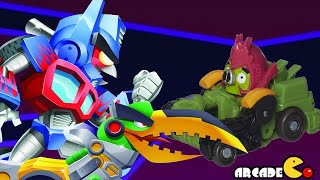 Angry Birds Transformers: Telepods Bludgeon Auto Birds Gameplay Part 49