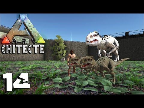 ARKCHITECTE 14 - Enclos INDOMINUS REX + Bébé Indominus Rex - royleviking [FR HD PC]