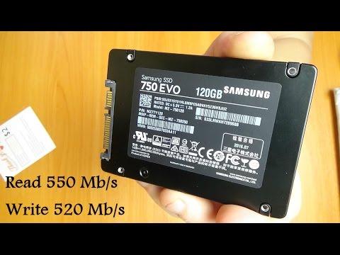 SSD Samsung 750 EVO 120gb из Китая (обзор + тест)