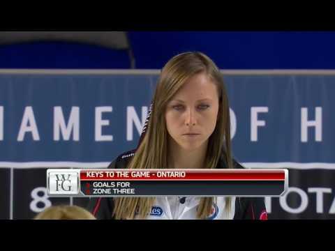 2017 Scotties Tournament of Hearts - Homan (ON) vs. Kleibrink (AB) - Draw 6