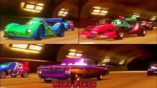 Cars 2 Game Play - 3 player Battle Race  05