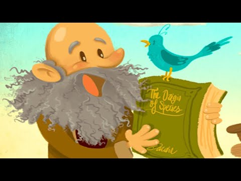 DARWIN, THE ORIGIN OF SPECIES KIDS STORY