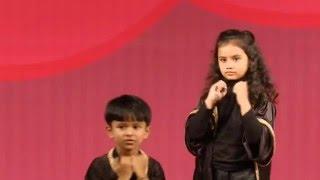 Kids performance on Michael Jackson Earth Song
