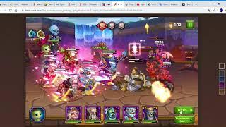Хроники Хаоса   Ролевая онлайн игра   Прохожу 14 главу компании. Узел связи на 3 звезды.