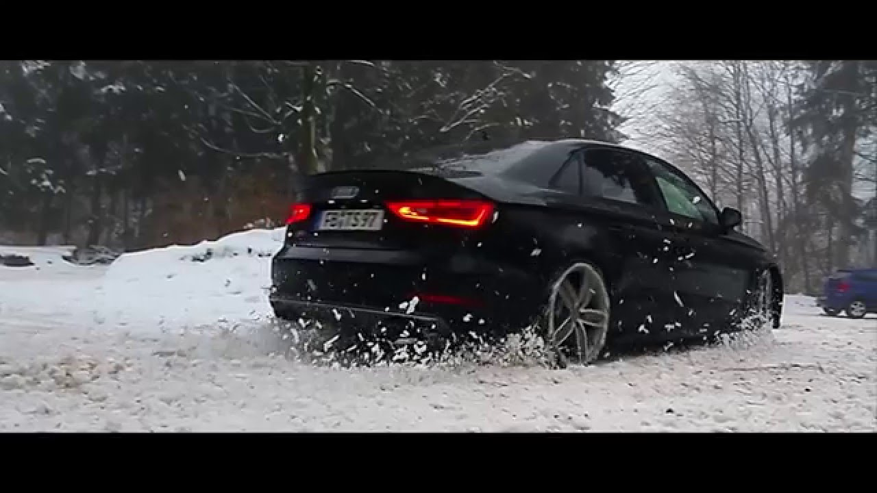 audi s3 8v limousine carporn snow drift youtube. Black Bedroom Furniture Sets. Home Design Ideas