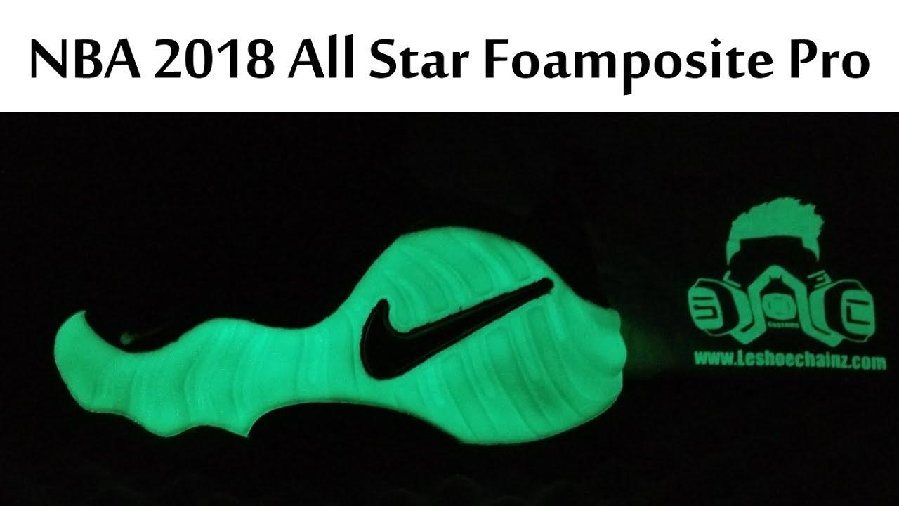 new arrival 17f3d e62f9 NBA 2018 All Star Glow in The Dark Foamposite Pro TEASER? | HYPEBEAST