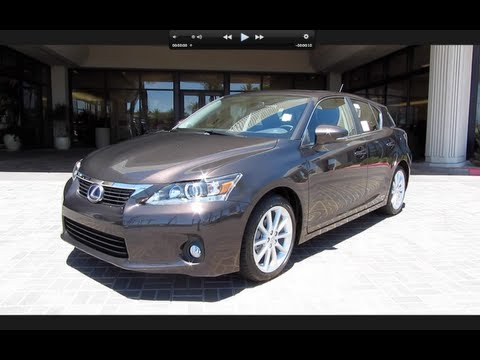 2011 Lexus CT200h Start Up, Engine, and In Depth Tour