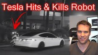 Tesla Crash At CES 2019. EXPOSED!
