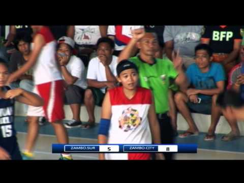 Zamboanga Del Sur Vs  Zamboamga City FINALS ZPRAA MEET 2016