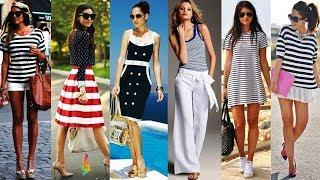 Морской стиль в женской одежде фото 💎 Модные морские образы для лета 2018 Что носить летом
