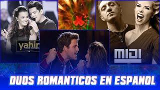 Los Mejores Duetos en Español Romanticos 2018    Dúos románticos en español Hombre y Mujer