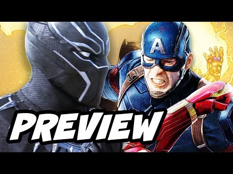 Black Panther Preview and Infinity War Theory Explained