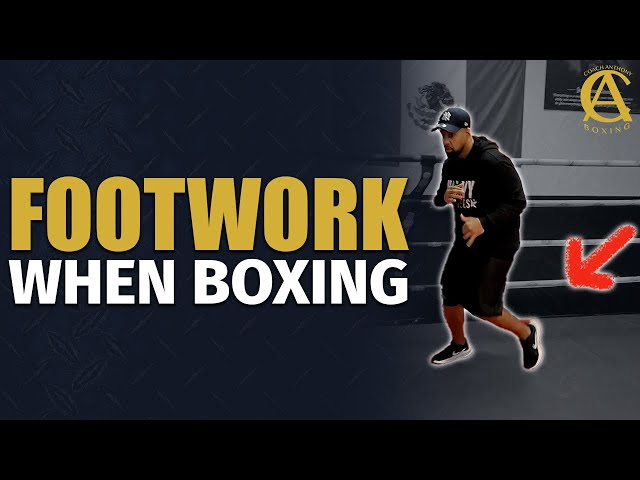 FOOTWORK TIPS WHEN BOXING! [ Amateur mistakes and how to transition to Professional Boxing ]