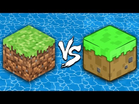 Thumbnail: Minecraft vs Cartoons