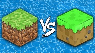 Minecraft vs Cartoons