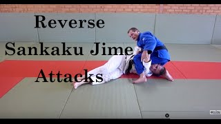 University of Judo –  Unstoppable Reverse Sankaku Jime attacks