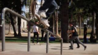 Lafayette & Rob Dyrdek LA Skate Plaza Montage (HD)
