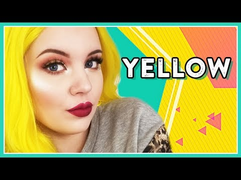 WOW! NEON YELLOW HAIR! SHELOVEWIG TRY-ON/REVIEW