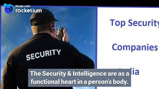 Top 9 Security Services Provider Companies in India