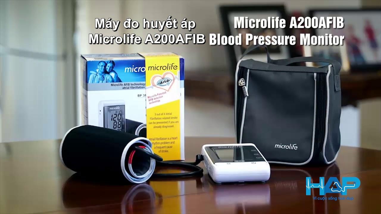 Sự cần thiết của máy đo huyết áp Microlife A200 AFIB