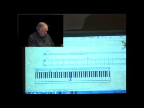 Computer Music using Sibelius software