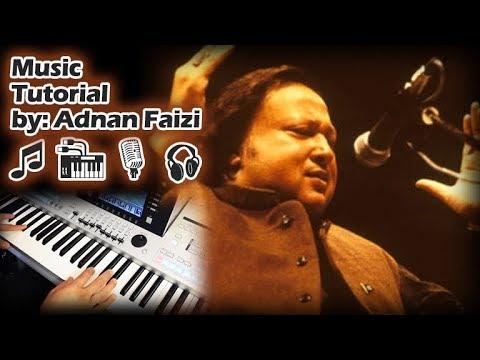 Mere Rashke Qamar Beginners Keyboard Tutorial Original Scale Chords