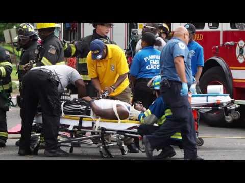 Mock fatal car crash in Plainfield