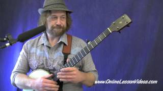 ANGELS WE HAVE HEARD ON HIGH - [HD] Clawhammer Banjo Lessons by Ryan Spearman