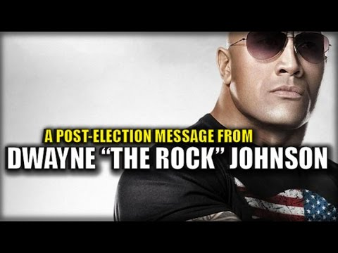 "DWAYNE ""THE ROCK"" JOHNSON'S JUST POSTED A MESSAGE TO AMERICA THAT MADE TRUMP SMILE!!!"